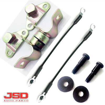New Tailgate Hinge Kit Cable Striker Bolts Set For GMC Chevy Pickup Truck 8Pcs - New Tailgate Cable