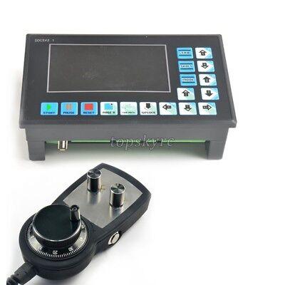 Ddcsv2.1 Cnc 4-axis Motion Controller Stepper Motor Driver Handwheel E Stop