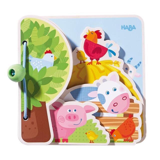 Haba Babybuch Bauernhoffreunde 300556