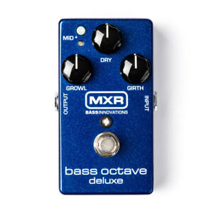 MXR Bass Octave Delux Pedal NEW