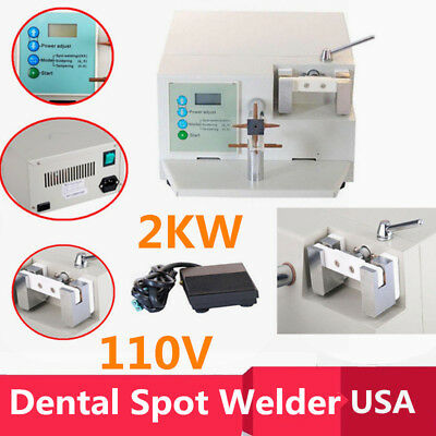 Dental Spot Welder Welding Orthodontic Material Heat Treatment Wdii 2000w 110v