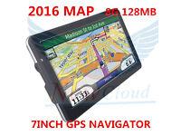 7 inch HD Car TRUCK GPS Navigator 800MHZ FM/4GB/DDR 128M New Maps Russia/ Europe/USA+Canad