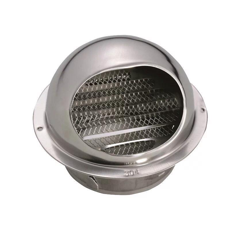 Stainless Steel Round Air Vent Duct Grill Extractor Fan