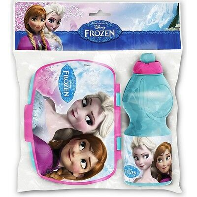 Disney Die Eiskönigin Frozen Lunchbox Set Brotdose + Wasserflasche