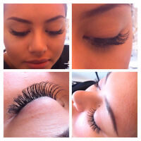 NATURAL +FULL+ EYELASH extension ONLY 45$〜100 (3D Russian Volume