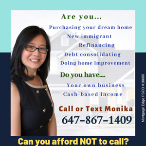 I can get your mortgage approved and FREE mortgage evaluation.