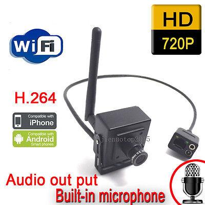 hidden ip camera 720p wireless mini surveillance audio webcam indoor cctv system Hidden Surveillance System