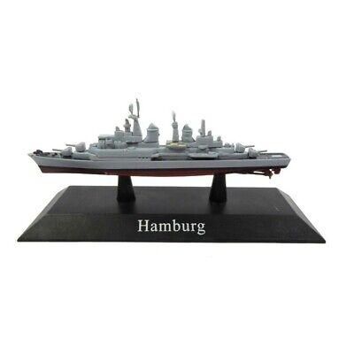 Hamburg Barco de Guerra 1:1250 Acorazado Diecast Agostini *53