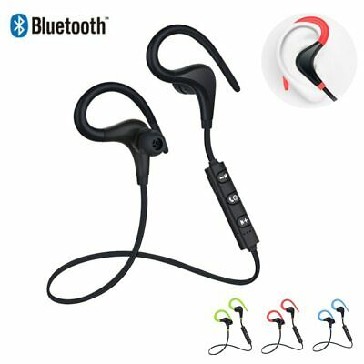 Bluetooth Earphone Wireless Earhook Headphones Sport Handsfree Bluetooth Headset