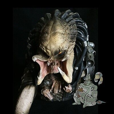 Predator Unmasked Vinyl Bust Coin Bank Dst Plastic Diamond Select New Aliens