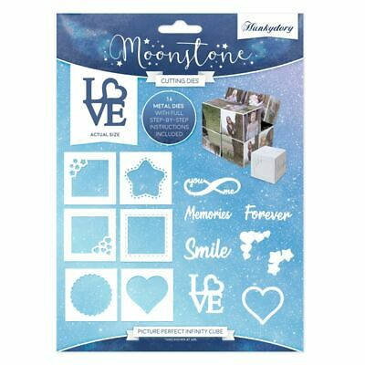Hunkydory - Moonstone PICTURE PERFECT INFINITY CUBE Craft Die Set - MSTONE172