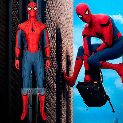 Spider-Man Far From Home Cosplay Kostüm Costume Outfit Halloween - Spiderman Kostüm Bodysuit