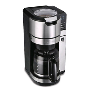 New!SAVE!Hamilton Beach Grind and Brew Programmable 12 Cup Maker