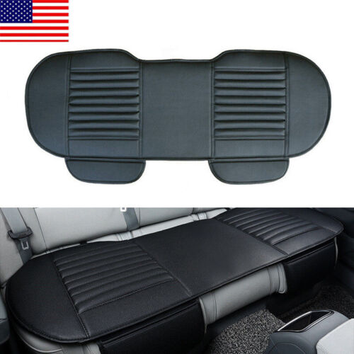 Auto Car PU Leather Rear Back Seat Cover Breathable Cushion Chair Accessories