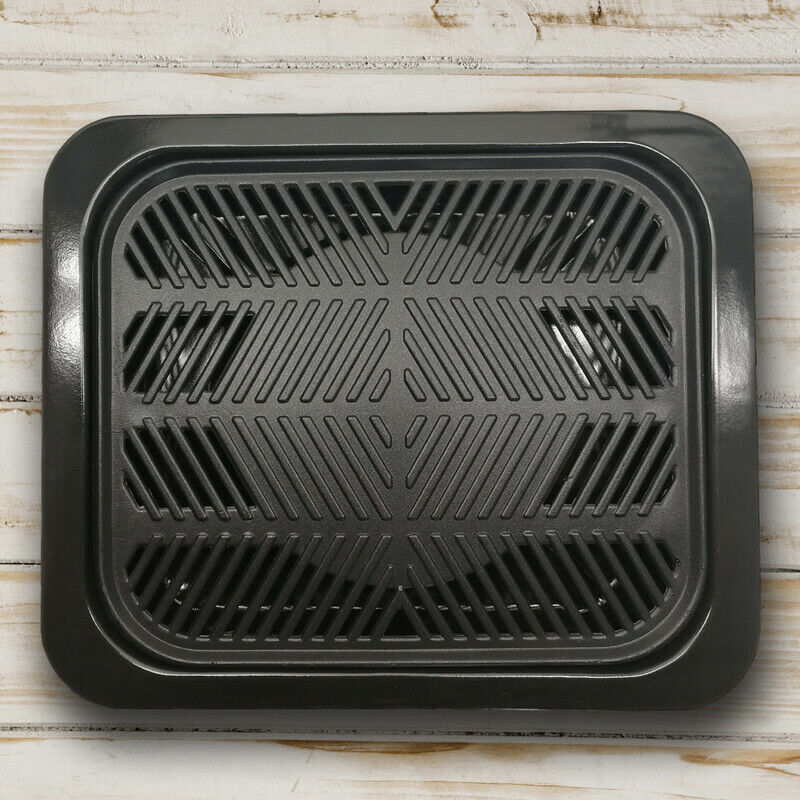 Korean BBQ Grill Pan, Stovetop, Tabletop BBQ, Indoor Barbecu
