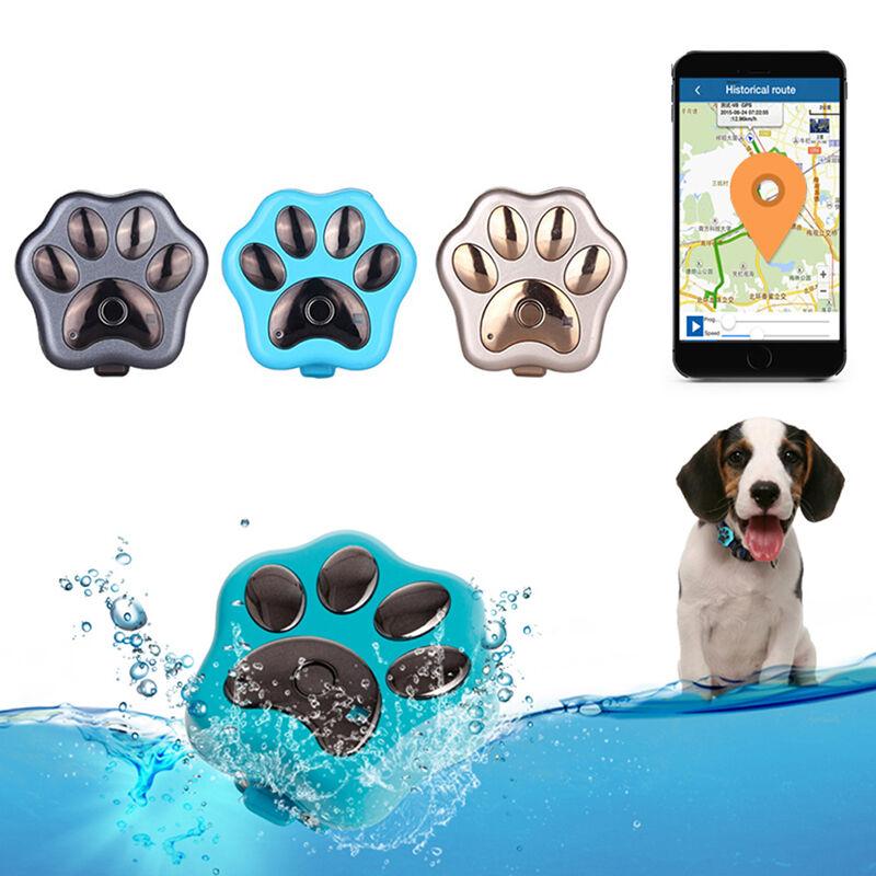 Mini WIFI Dog Cat Pet ID Locator Real Time GPS Tracker GSM Tracking Anti-lost