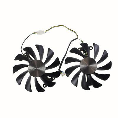 (GAA8S2U GFM10012H12SPA 95mm DC 12V VGA Fan For ZOTAC GTX1070/1080 AMP ED 8GB)