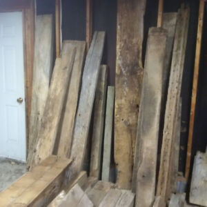 Reclaimed barn wood, planks, posts, boards