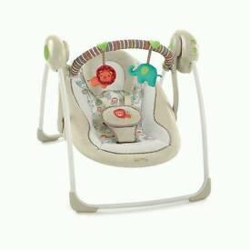 Bright Starts Cosy Kingdom Portable Swing Chair