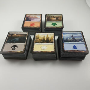 MTG Cards Basic Lands & Uncommon Cards