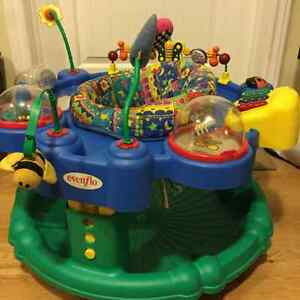 Even flow Exersaucer Deluxe