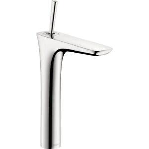 Hansgrohe 15072001 PuraVida Single Hole Faucet Tall Chrome