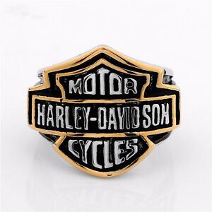 HARLEY DAVIDSON MOTORCYCLE RING SIZE 14 NEW