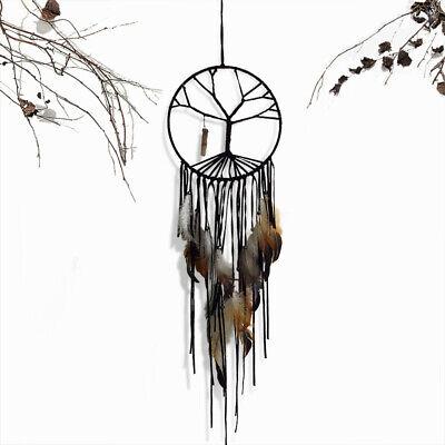 "28"" Tree of Life Net Bead Feather Hanging Dreamcatcher Dream Catcher Decor Home"
