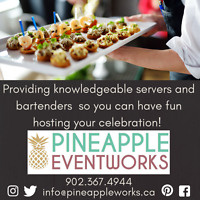 Need servers or bartenders for your catered event?
