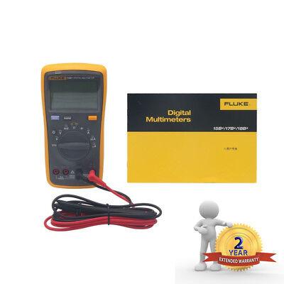 Fluke 15b F15b Digital Multimeter Meter Auto Range Ac Dc Voltage Current Hksz