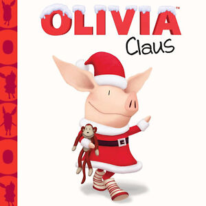 New - Olivia Claus book for kids!