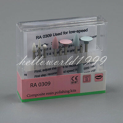 Dental Composite Polishing Kit Ra 0309 For Low-speed Handpiece Contra Angle