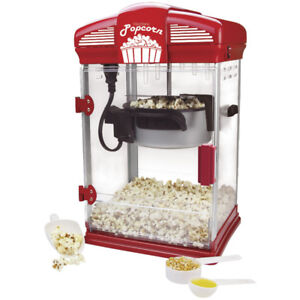 Theater-Style Popcorn Machine, New