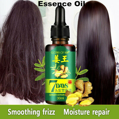 30ML 7 Day Ginger Germinal Serum Hair Loss Treatement Growth Essence Oil