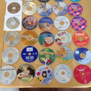Baby / toddler cd's and dvd's
