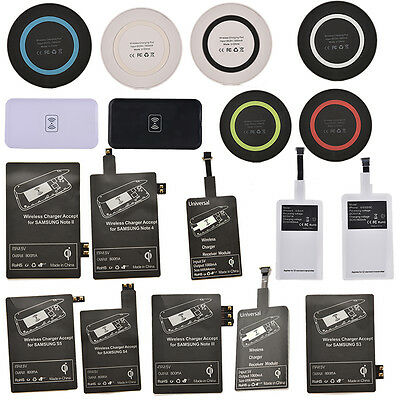 Qi Wireless Battery Charger Charging Pad for Samsung Galaxy S3 S4 S5 Note P0CAER