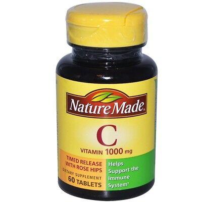 Nature Made, Vitamin C, 1000 mg, 60 (Nature Made Vitamin C)