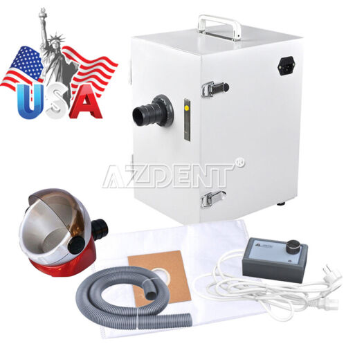 Dental Industry Digital Single-Row Dust Collector Vacuum Cleaner + Suction Base