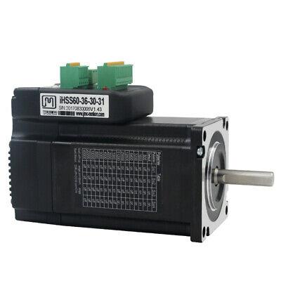 Nema24 3nm Integrated Closed Loop Stepper Motor Drive Kit 36vdc Jmc Ihss60-36-30