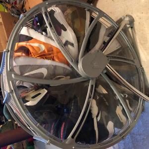 Shoe Wheel Holder / Rack / Stand / Storage / Organizer.
