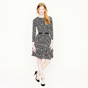 New (NWT) J Crew Collection scatter dot cocktail dress Sz 8