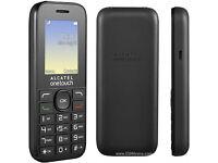 "NEW DUAL SIM ALCATEL 10.16D 1.5"" BLACK MOBILE PHONE UNLOCKED"