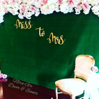 Decor for all occasions! Booking now!