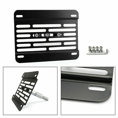 Universal Car Front Bumper Tow Hook License Plate Mounting Bracket Kit For Ford