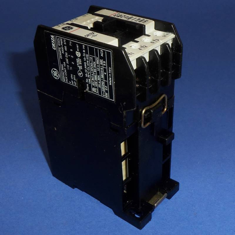 GE GENERAL ELECTRIC 24VDC COIL 10A CONTACTOR CR7ZA *PZB*