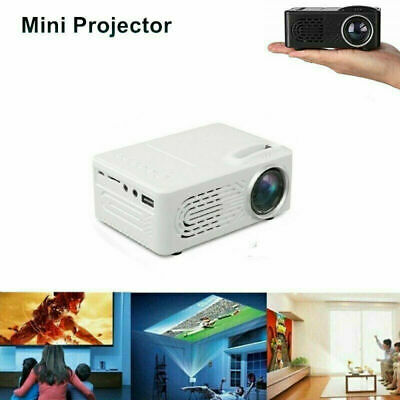 Mini pocket Full HD 1080P LED Home Theater Projector Portable Cinema AV USB SD