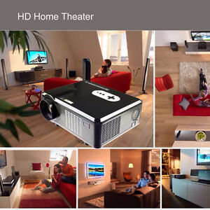 EXCELVAN HIGH DEFINITION MOVIE THEATER PROJECTOR 200 inches