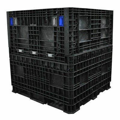 Heavy Duty Collapsible 45 X 48 X 50 Pallet Container With Top Floor