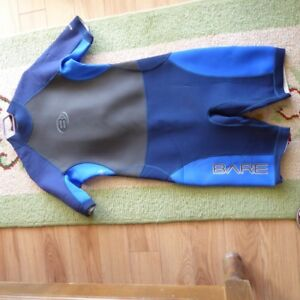 BARE diving suit