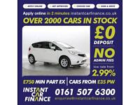 Nissan Note 1.2 2013MY Acenta CREDIT PROBLEMS?? WE CAN HELP! 0161 507 6300